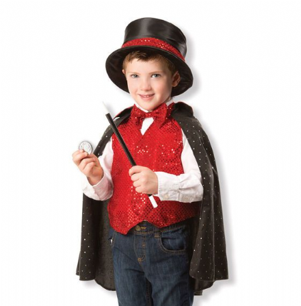 Melissa & Doug Role Play Outfit - Magician Costume